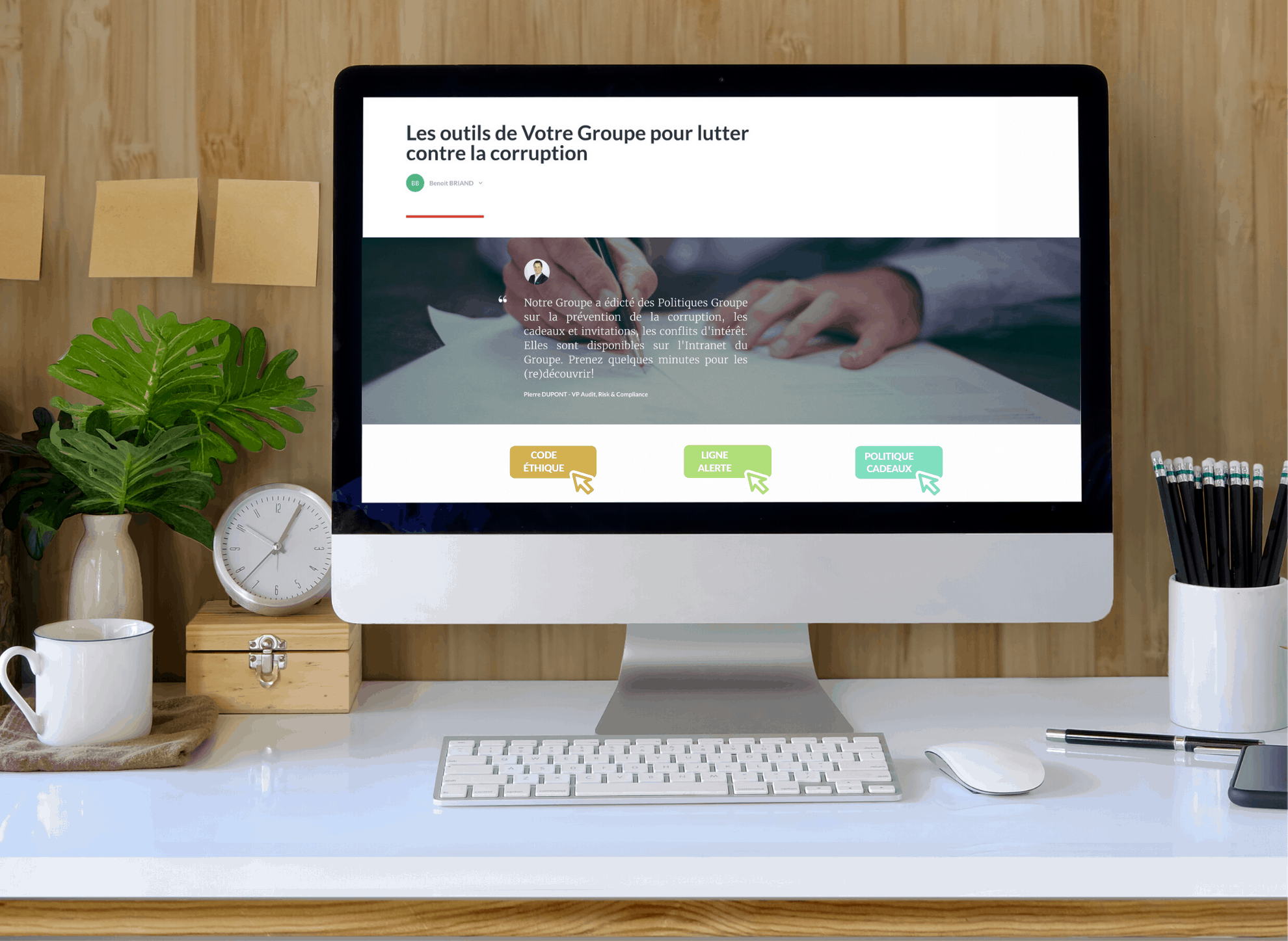 E-learning anticorruption interactif
